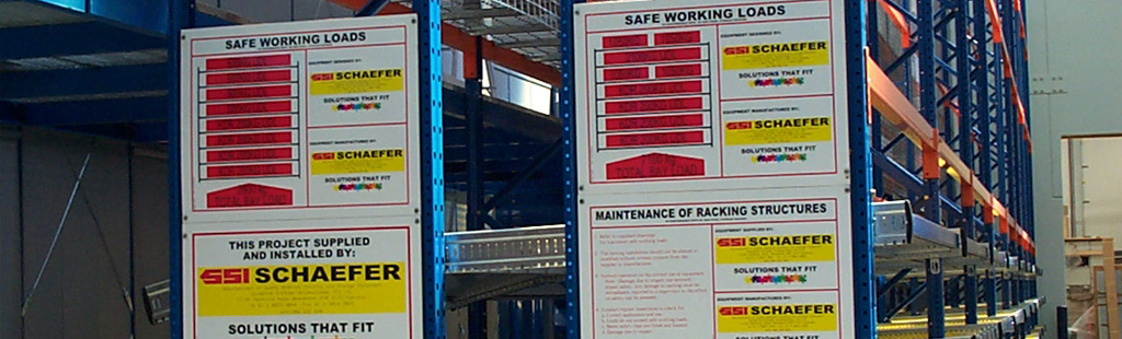 Absolute Storage Load Safety Signs