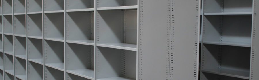 Absolute Storage - roll post shelving
