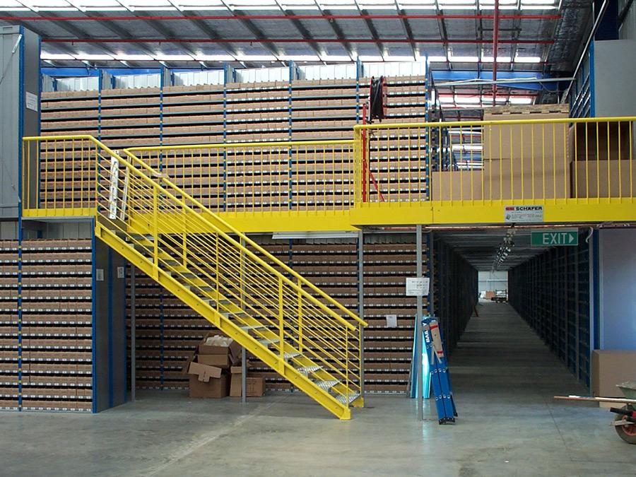 Raised Storage Area Absolute Storage Pallet Racking