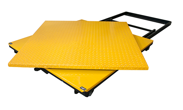 The RotoLift Easi Picker - Flat Top Pallet Turntable