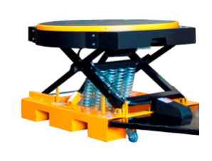 RotoLift Spring Elevator with Powered Rotating Top