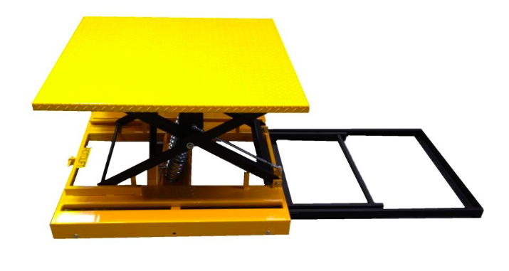 Rotolift Easi Picker Spring Pallet Turntable for Pallet Racks