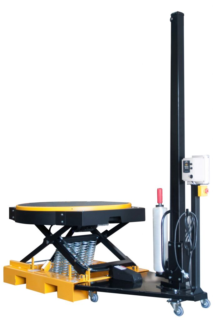 RotoLift Stretch Wrapper Pallet Elevator